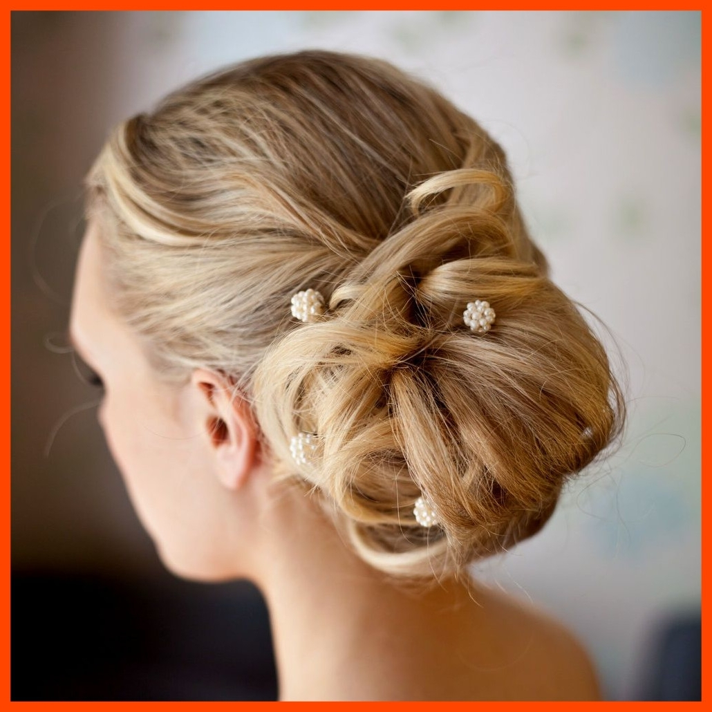 Stunning Wedding Hairstyles Side Bun Ideas Pict For Updos Styles And Regarding Fashionable Wedding Hairstyles For Long Hair With Side Bun (View 5 of 15)
