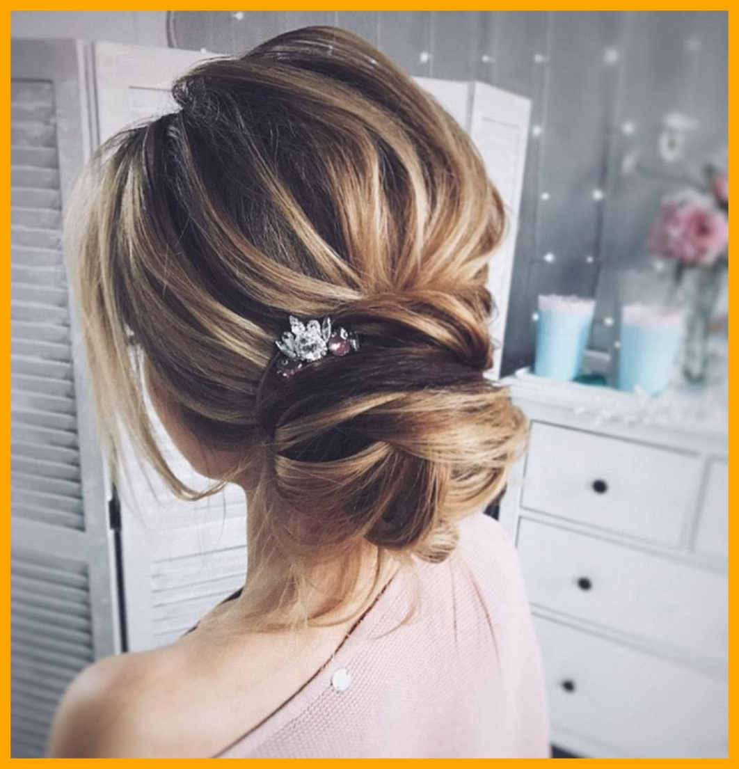 Stunning Wonderful Bridesmaid Updo Hairstyles Image Of Messy Wedding Pertaining To Preferred Messy Wedding Hairstyles (View 11 of 15)