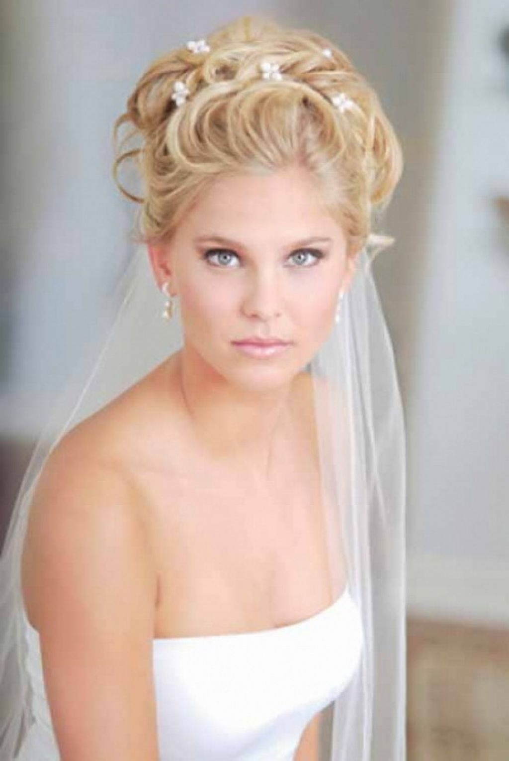 The Best Cool With Short Hair Hairstyle For Women U Man Of Wedding For Well Known Wedding Hairstyles For Shoulder Length Hair With Veil (View 14 of 15)