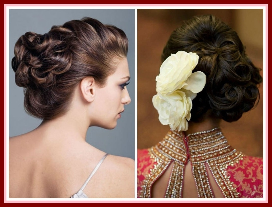 The Best Photo Wedding Hairstyles For Thin Shoulder Length Hair With Inside Most Up To Date Wedding Hairstyles For Thin Mid Length Hair (View 10 of 15)