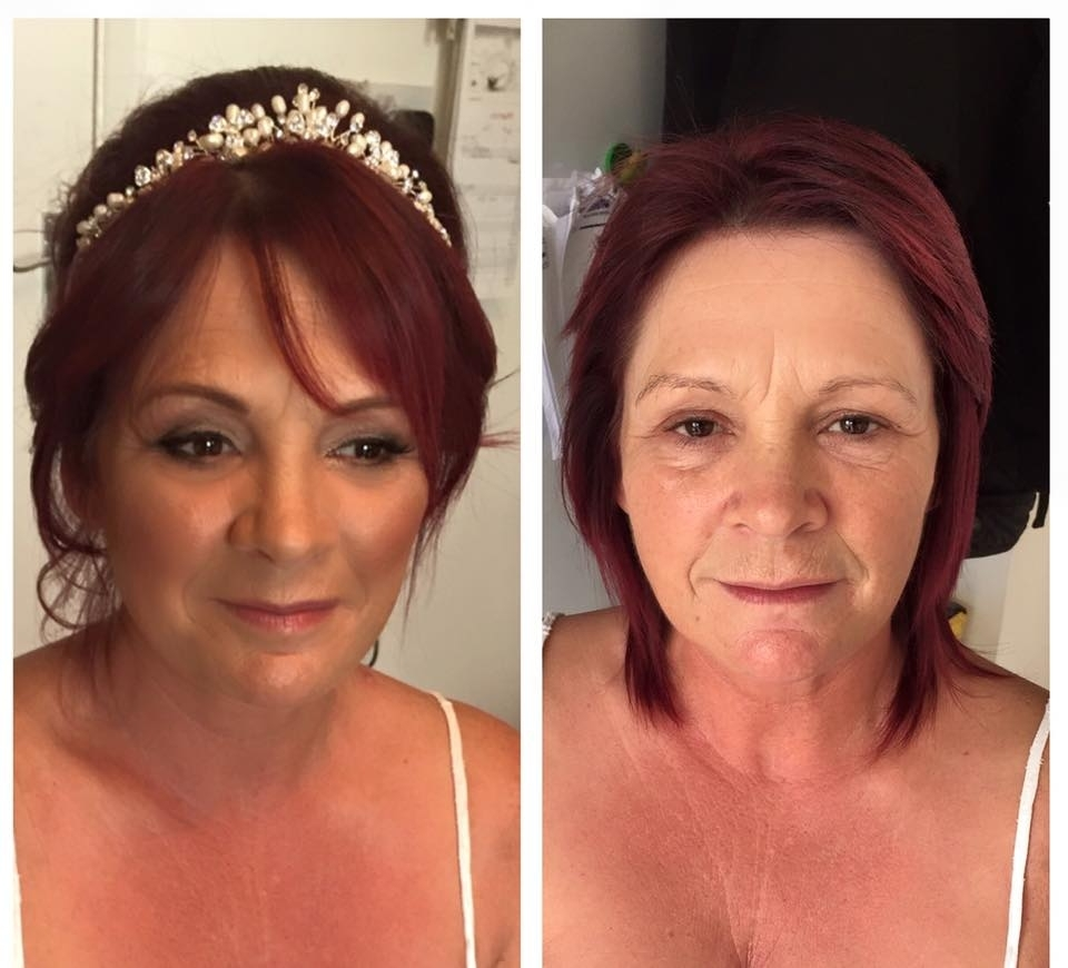 The Makeup Girl With 2017 Wedding Hairstyles For Mature Bride (View 13 of 15)