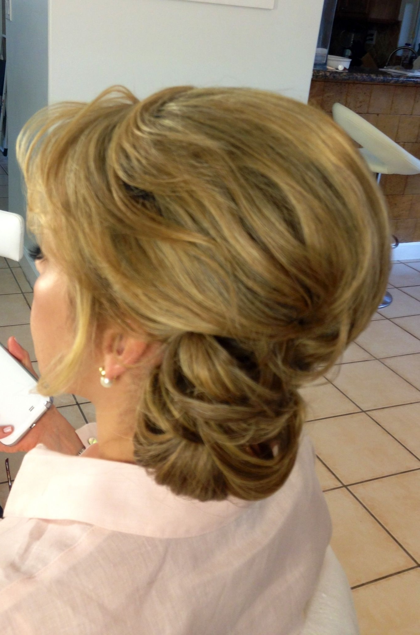 The Mother Of The Bride #hair #bride #updo #momupdo #mom With Famous Mother Of The Bride Updo Wedding Hairstyles (View 13 of 15)