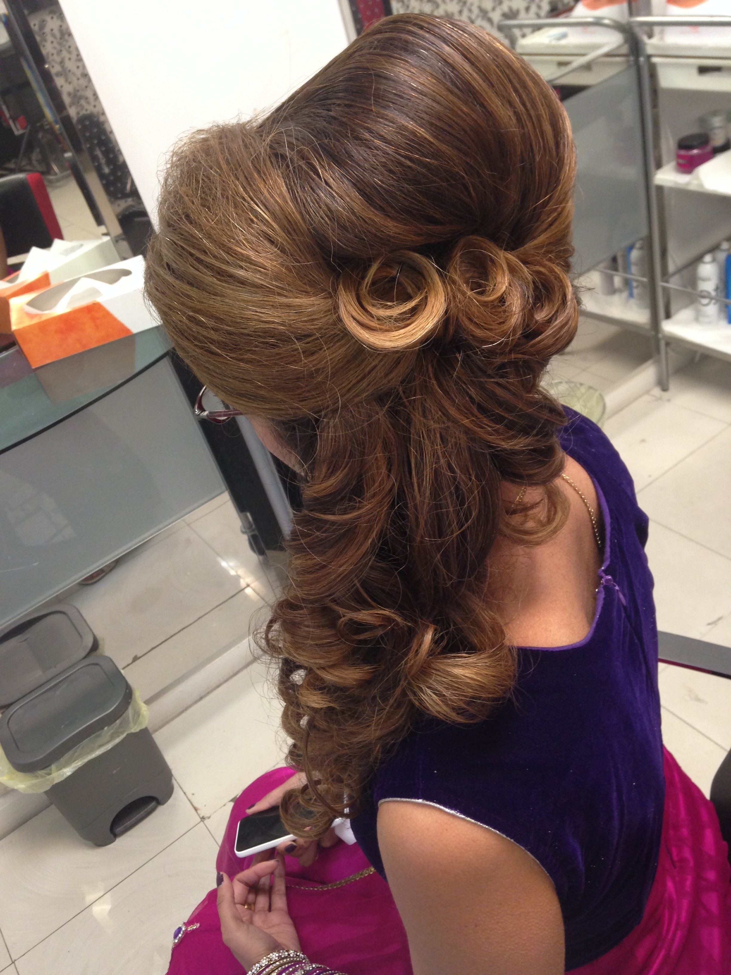Trend Hairstyle And Haircut Ideas In Best And Newest Asian Wedding Hairstyles (View 13 of 15)