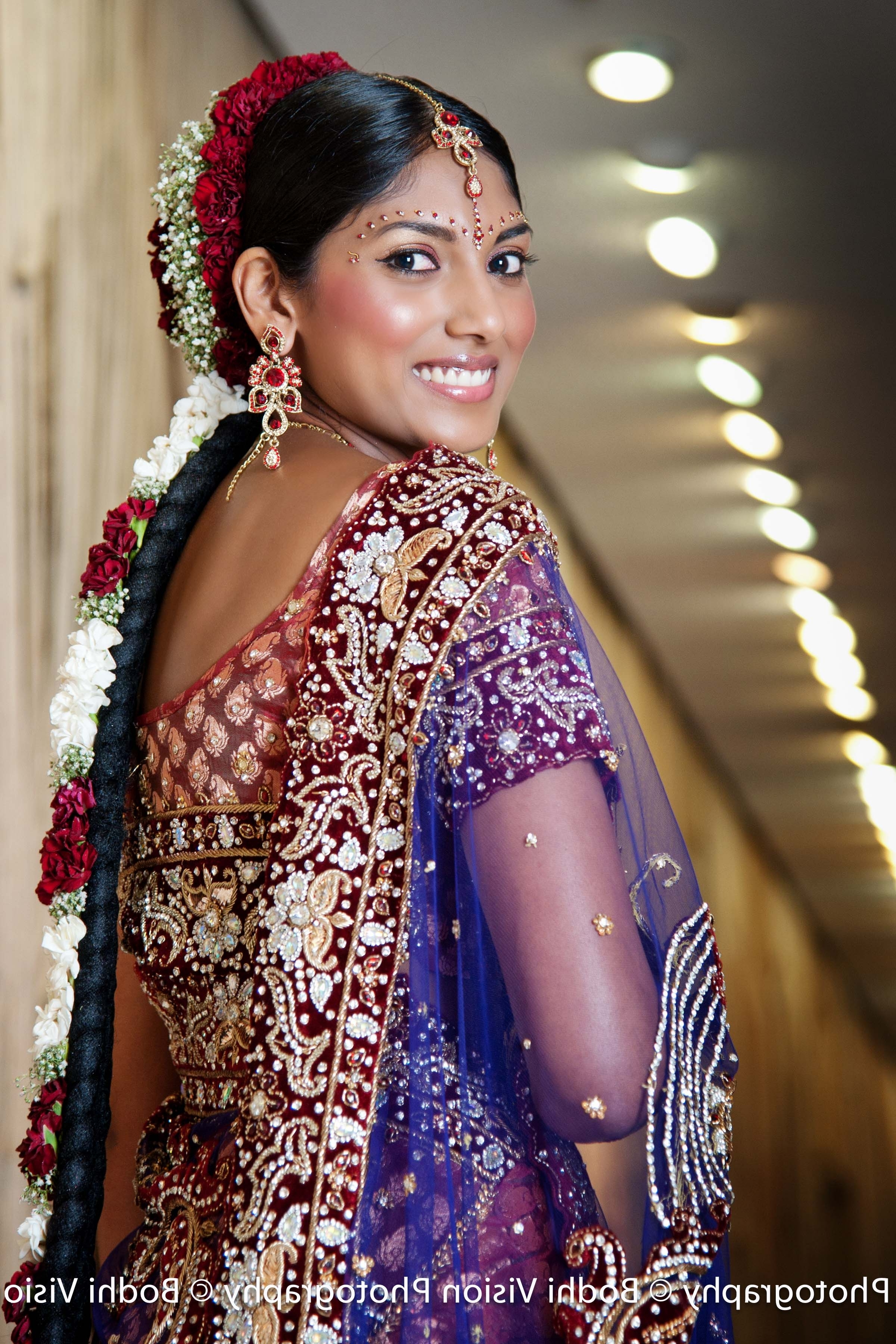 Trend Hairstyle And Haircut Ideas Inside Best And Newest South Indian Tamil Bridal Wedding Hairstyles (View 12 of 15)