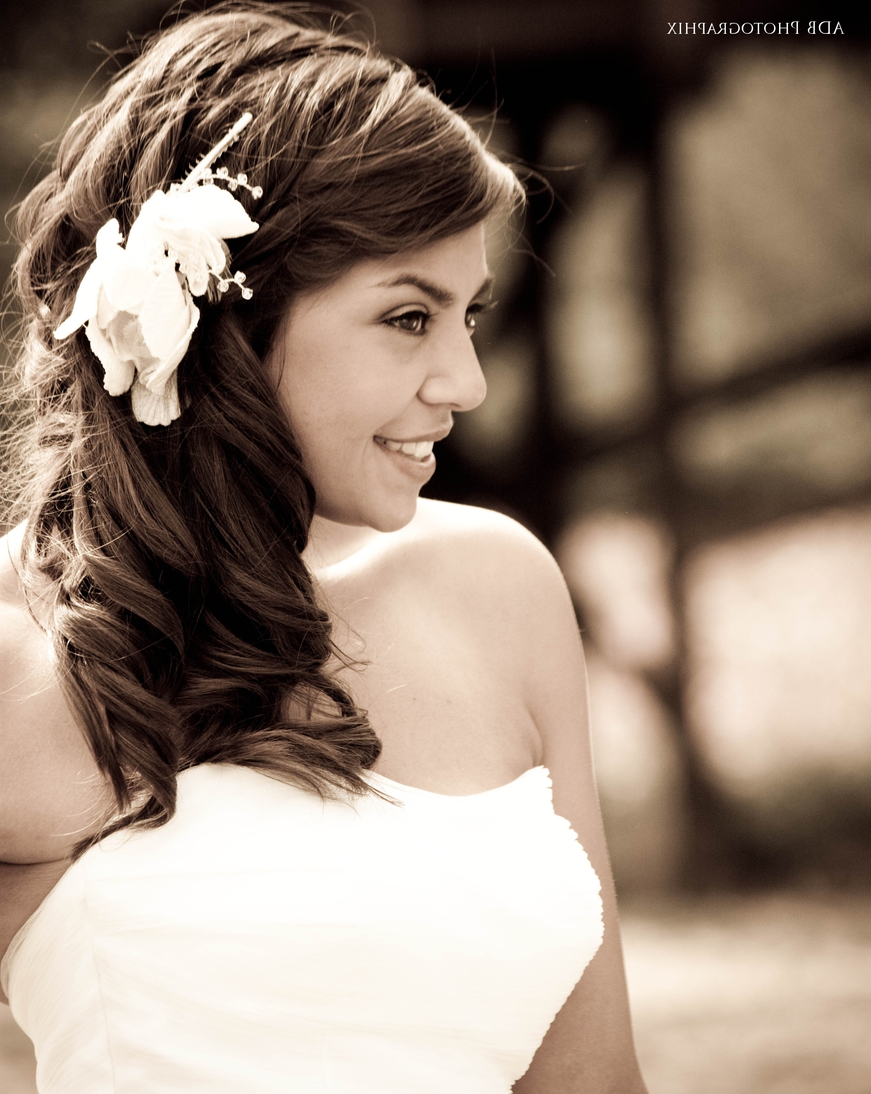 Trend Hairstyle And Haircut Ideas With Current Wedding Hairstyles For Long Hair With Side Swept (View 10 of 15)