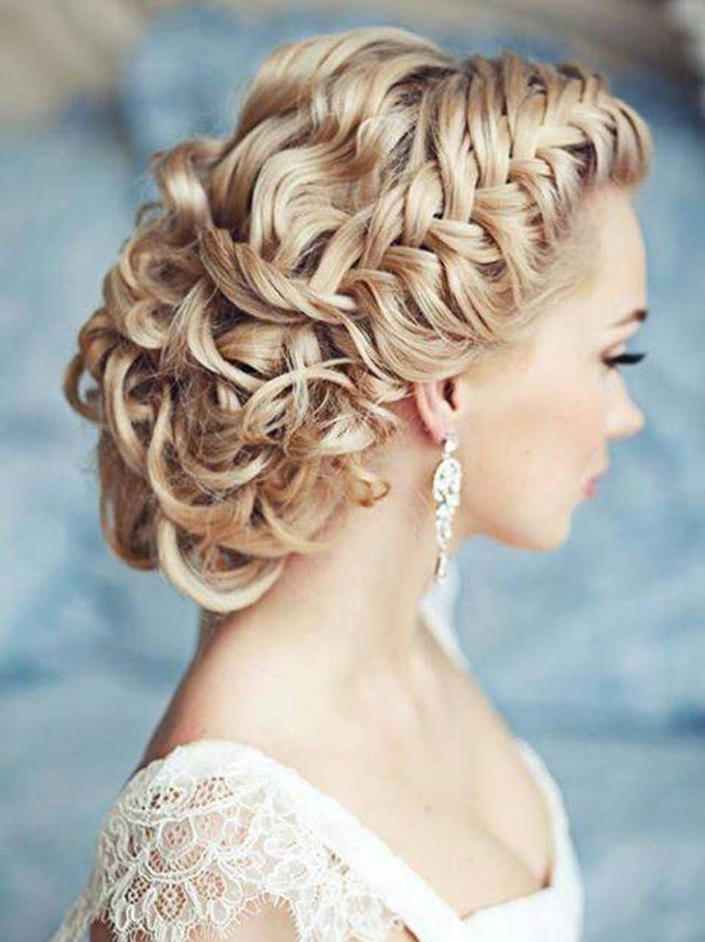 Trend Hairstyle And Haircut Ideas With Regard To Newest Plaits And Curls Wedding Hairstyles (View 8 of 15)