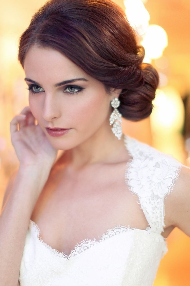 Trend Hairstyle And Haircut Ideas Within Fashionable Wedding Hairstyles And Makeup (View 11 of 15)