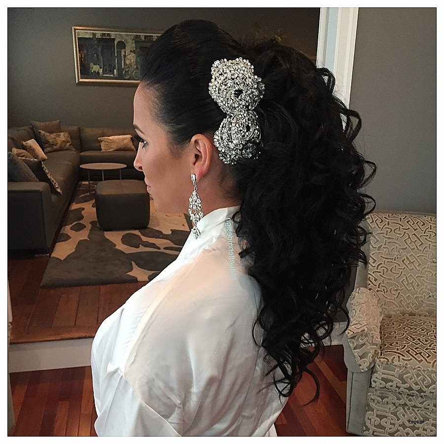 Trendy Big Curls Wedding Hairstyles With Regard To Curly Hairstyles (View 12 of 15)