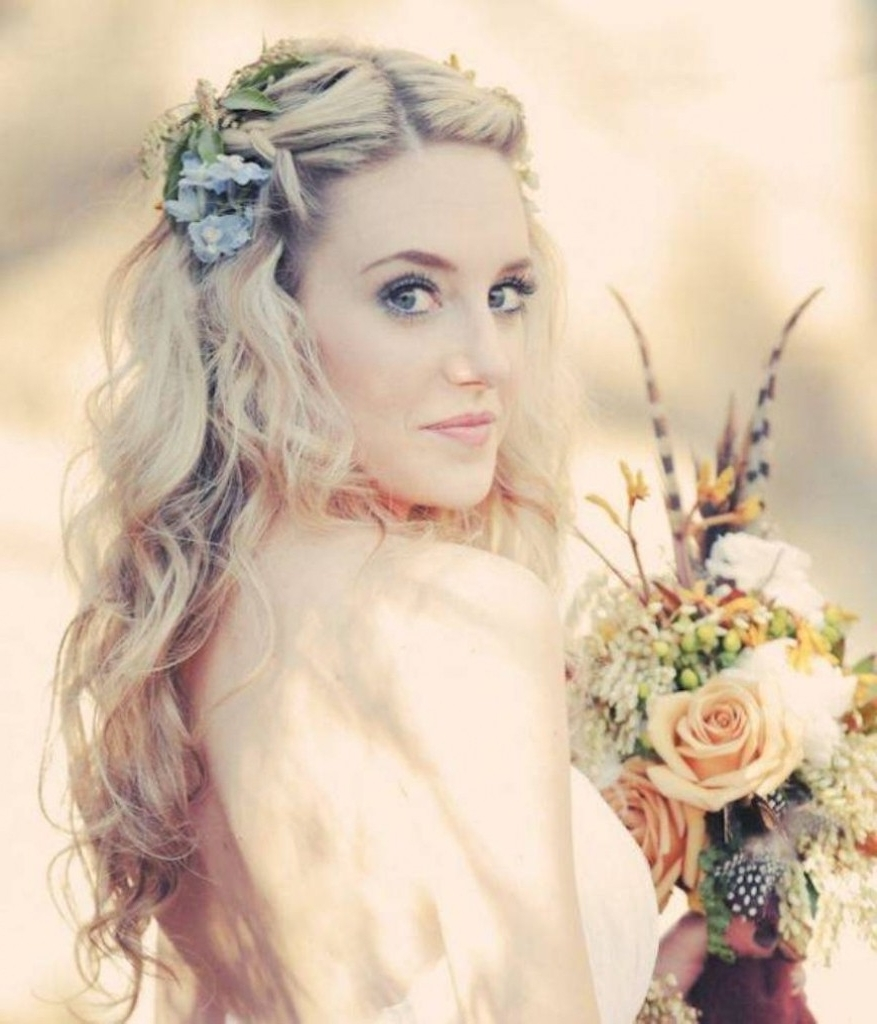 Trendy Boho Wedding Hairstyles Intended For I Will Tell You The Truth About Bohemian Wedding Hairstyles In The (View 15 of 15)