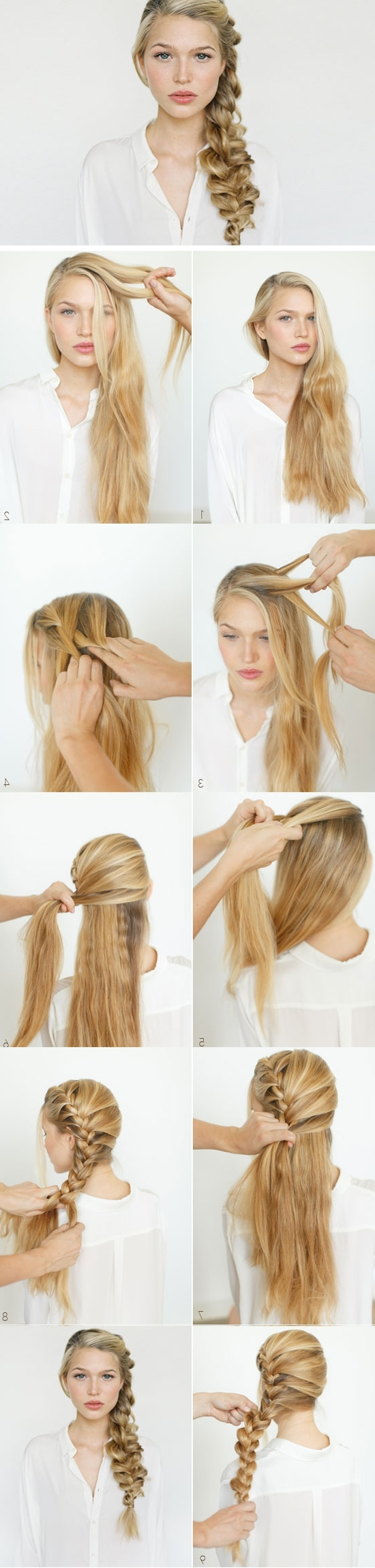 Trendy Diy Wedding Hairstyles For Long Hair Intended For Easy Diy Wedding Hairstyles For Long Hair (View 2 of 15)