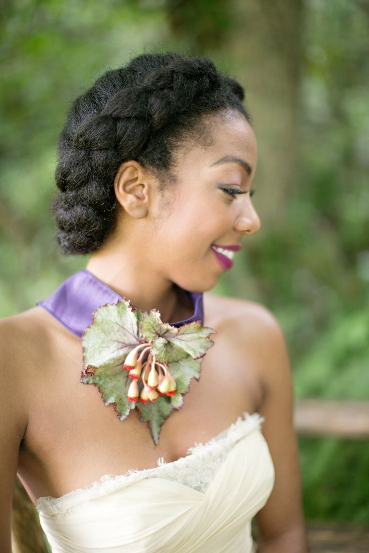 Trendy Jamaican Wedding Hairstyles Within 60 Best Wedding Hairstyles Images On Pinterest (View 14 of 15)