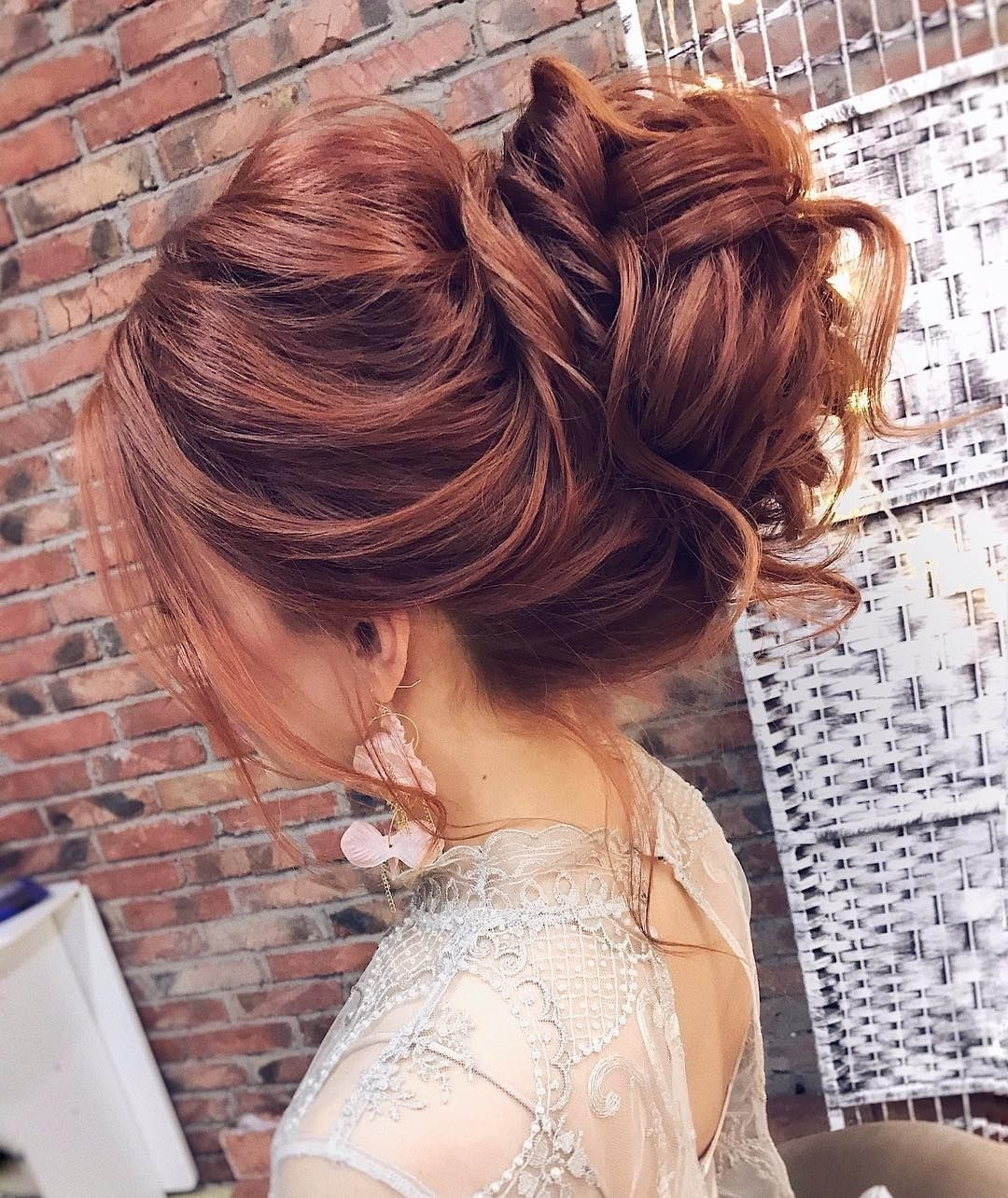 Trendy Messy Wedding Hairstyles With Regard To Gorgeous Feminine Messy Updo Wedding Hairstyles (View 13 of 15)