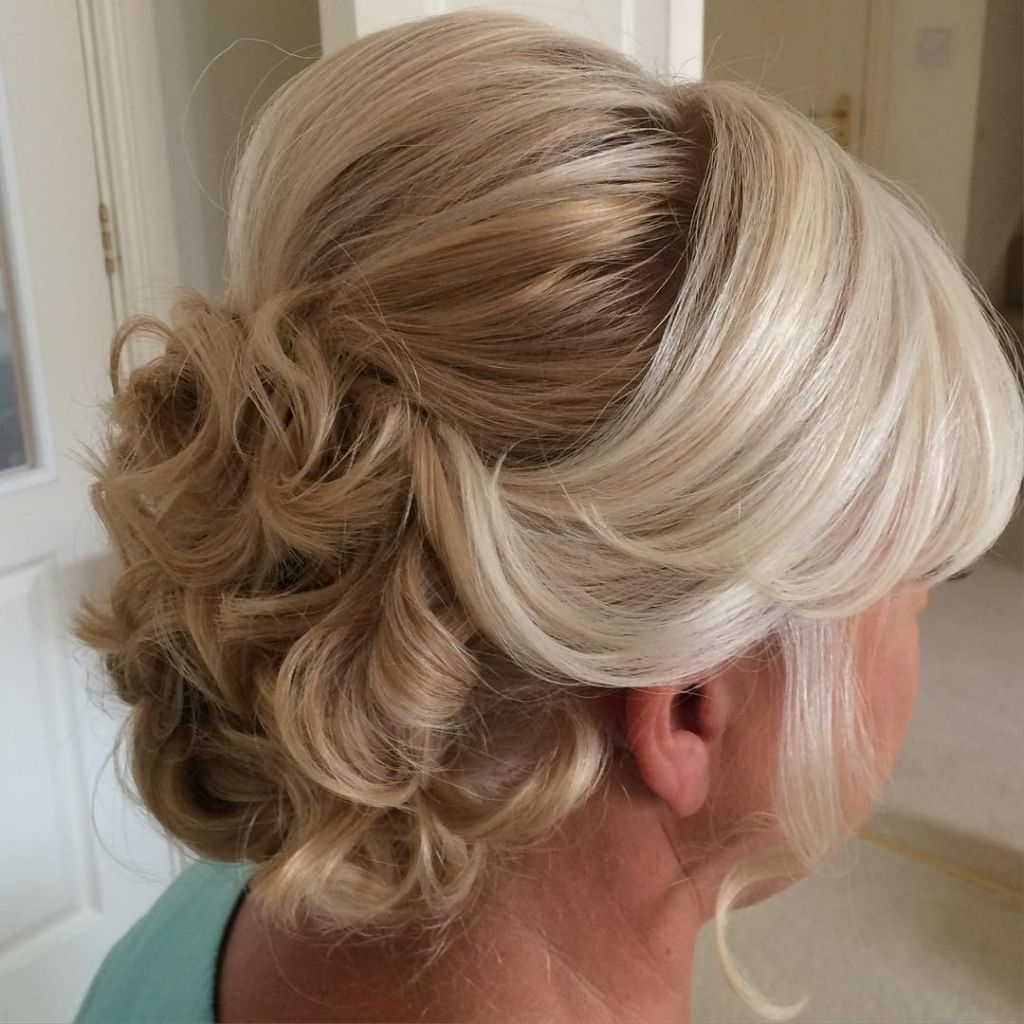 Trendy Mother Of Groom Wedding Hairstyles Regarding √ 24+ Best Mother Of Bride Hairstyles: Wedding Hairstyles For (View 12 of 15)