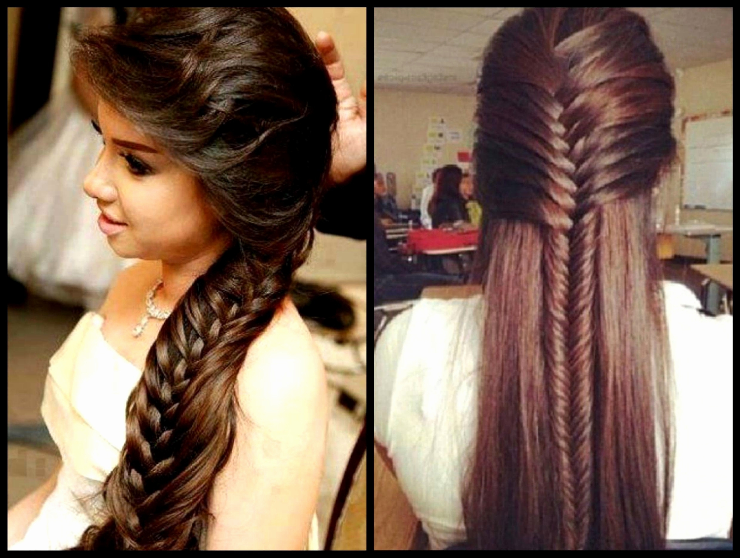 Trendy Simple Indian Wedding Hairstyles For Medium Length Hair Pertaining To Simple Indian Wedding Hairstyles For Long Hair Magnificent Bridal (View 8 of 15)