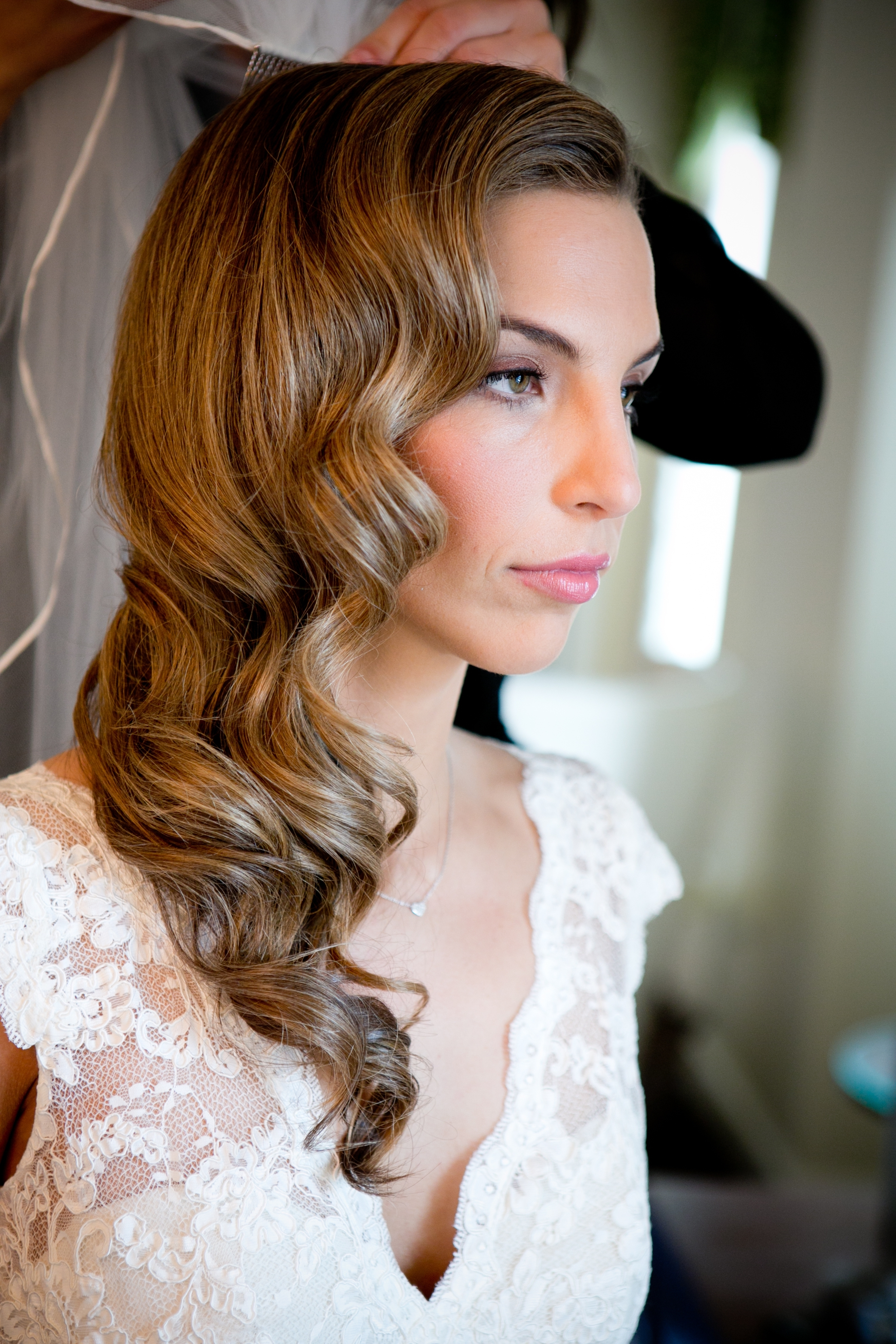 Trendy Vintage Wave Wedding Hairstyles For Enchanting Long Hairstyles For Brides For Your 17 Best Images About (View 12 of 15)