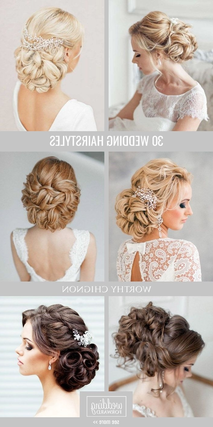 Trendy Wedding Hairstyles For Long Fine Hair With Bridal Hairstyles : 30 Favourite Wedding Hairstyles For Long Hair (View 11 of 15)