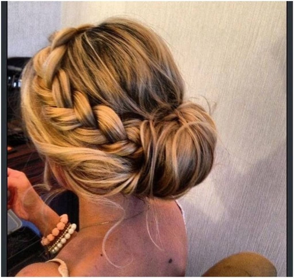 Trendy Wedding Hairstyles For Long Low Bun Hair With Long Hair Updos For Prom – Hairstyle For Women & Man (View 14 of 15)