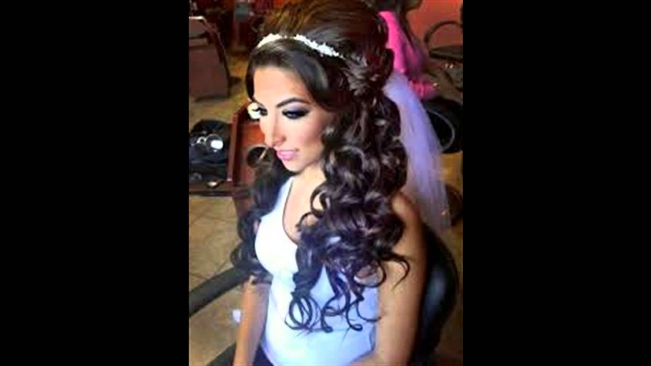 Trendy Wedding Hairstyles For Long Relaxed Hair Intended For Awesome African American Wedding Hair Styles Ideas – Styles & Ideas (View 10 of 15)
