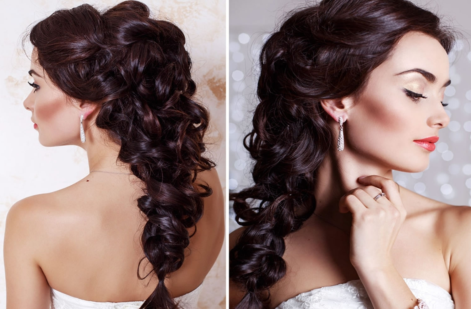 Trendy Wedding Hairstyles For Square Face Inside Very Stylish Wedding Hairstyles For Long Hair 2018 2019 – Hairstyles (View 12 of 15)