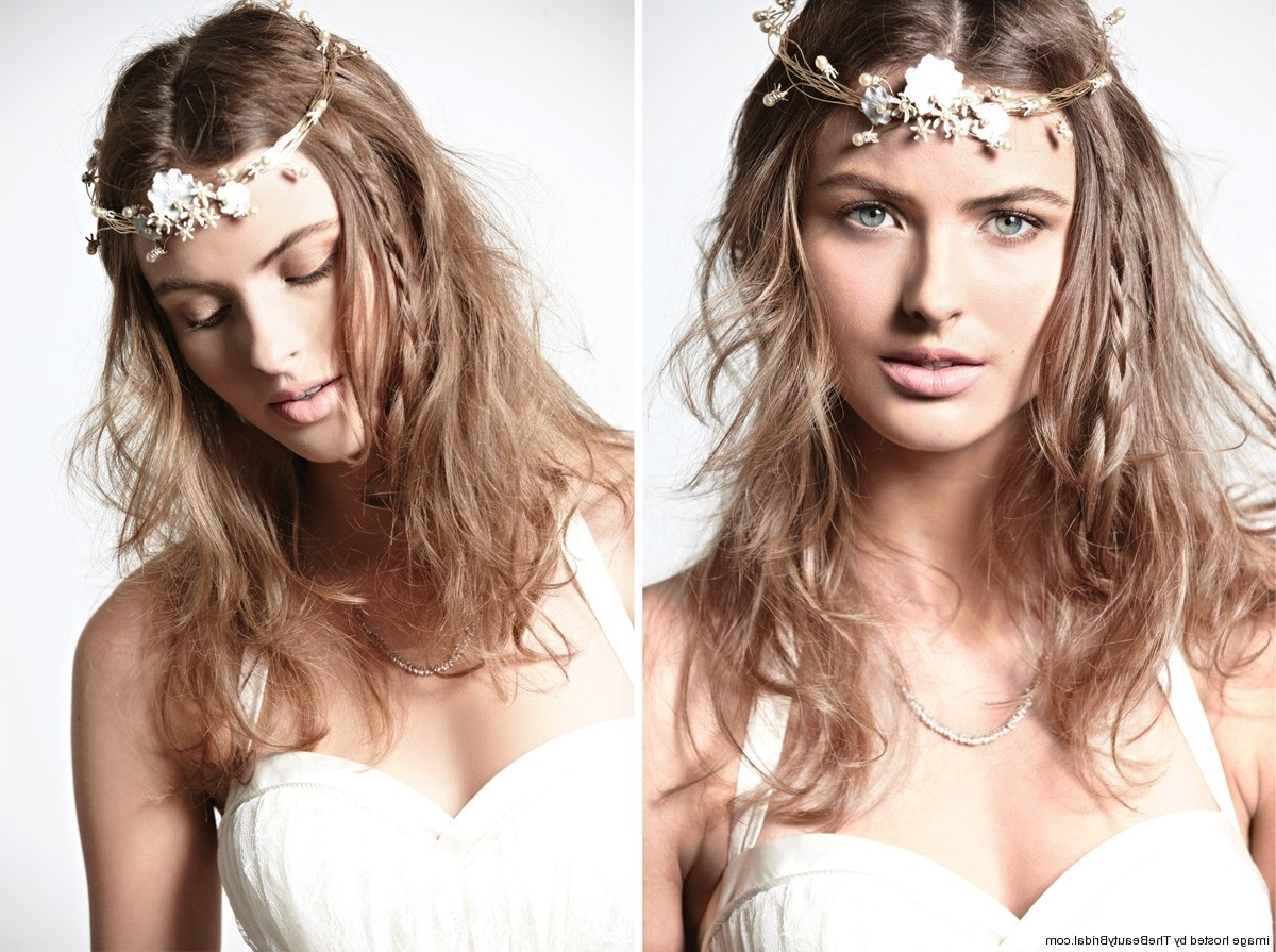 Trendy Wedding Hairstyles With Accessories Intended For Short Hair (View 13 of 15)