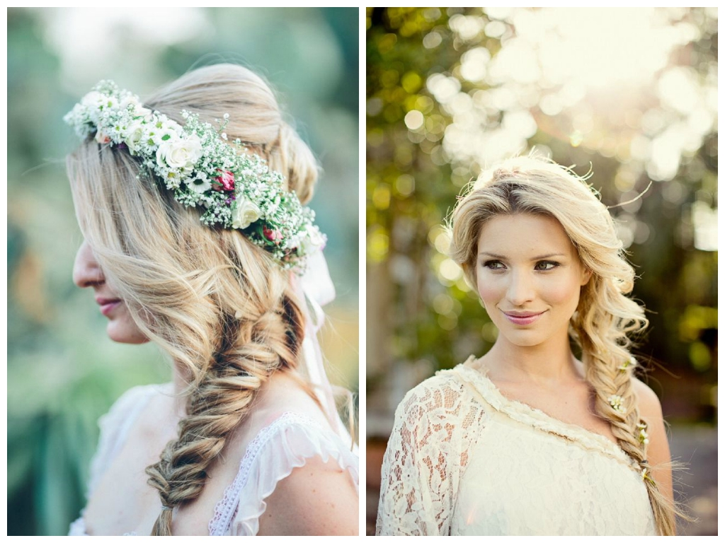 Trendy Wedding Side Hairstyles For Curly Hairstyles For Weddings Side Braid Hairstyles For Weddings (View 5 of 15)