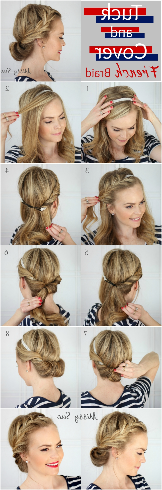 Tulle & Chantilly Intended For Well Known Diy Wedding Hairstyles For Long Hair (View 3 of 15)