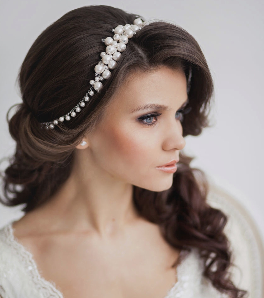 Unique Wedding With Regard To Widely Used Wedding Updos For Long Hair With Tiara (Gallery 7 of 15)