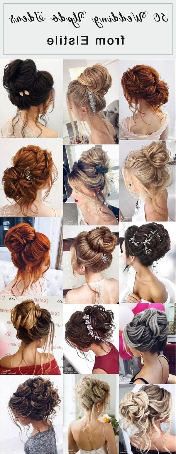 Updos, Weddings And Pertaining To 2018 Elstile Wedding Hairstyles For Long Hair (Gallery 10 of 15)