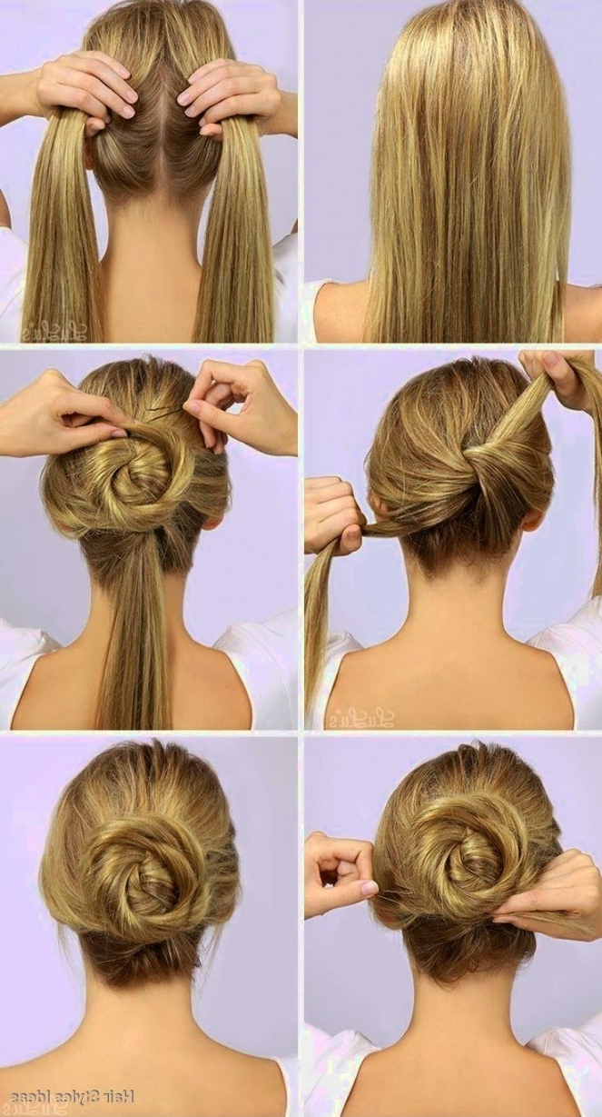 Very Easy Hairstyles To Do Onurself Back School Reallyu Canutube In Famous Wedding Hairstyles That You Can Do Yourself (Gallery 6 of 15)