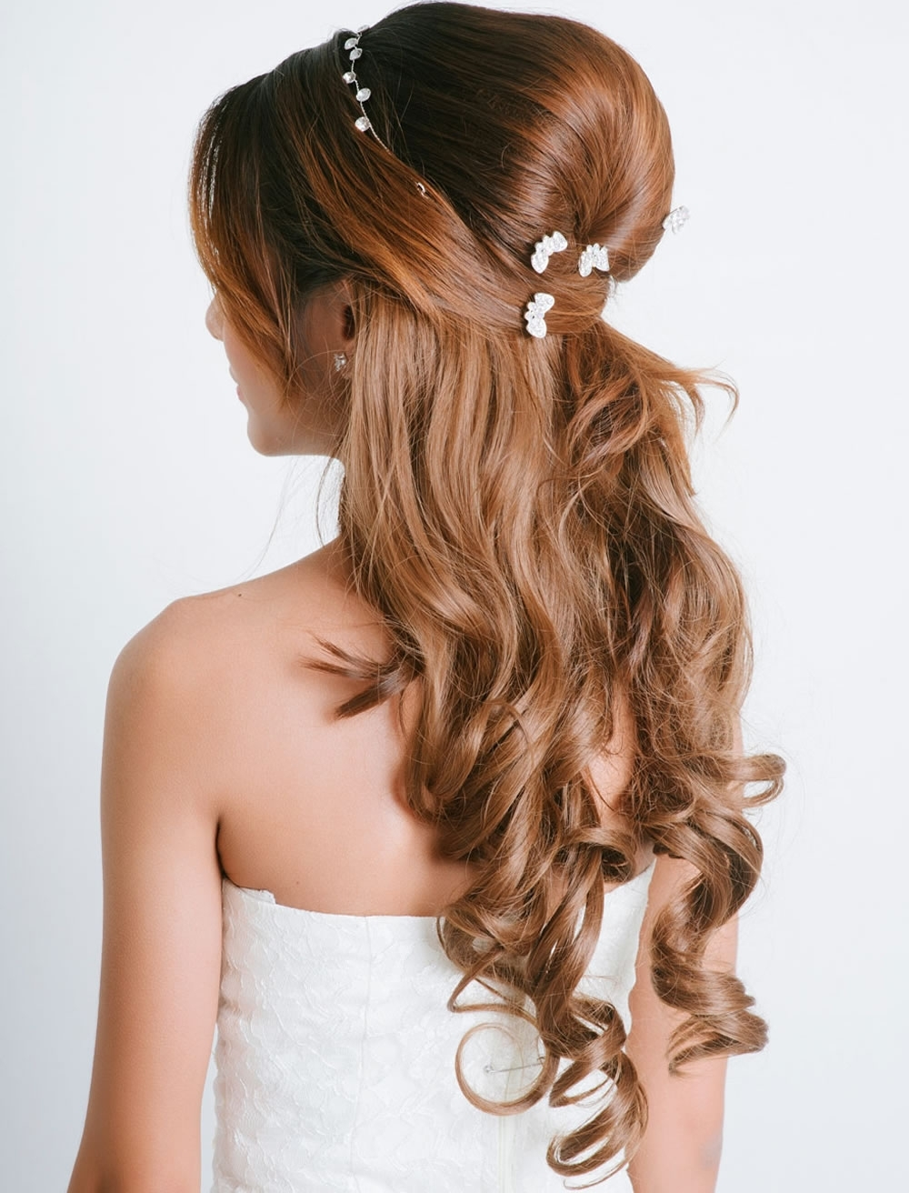 Very Stylish Wedding Hairstyles For Long Hair 2018 2019 – Page 2 Intended For Well Known Wedding Hairstyles For Long Brown Hair (View 14 of 15)