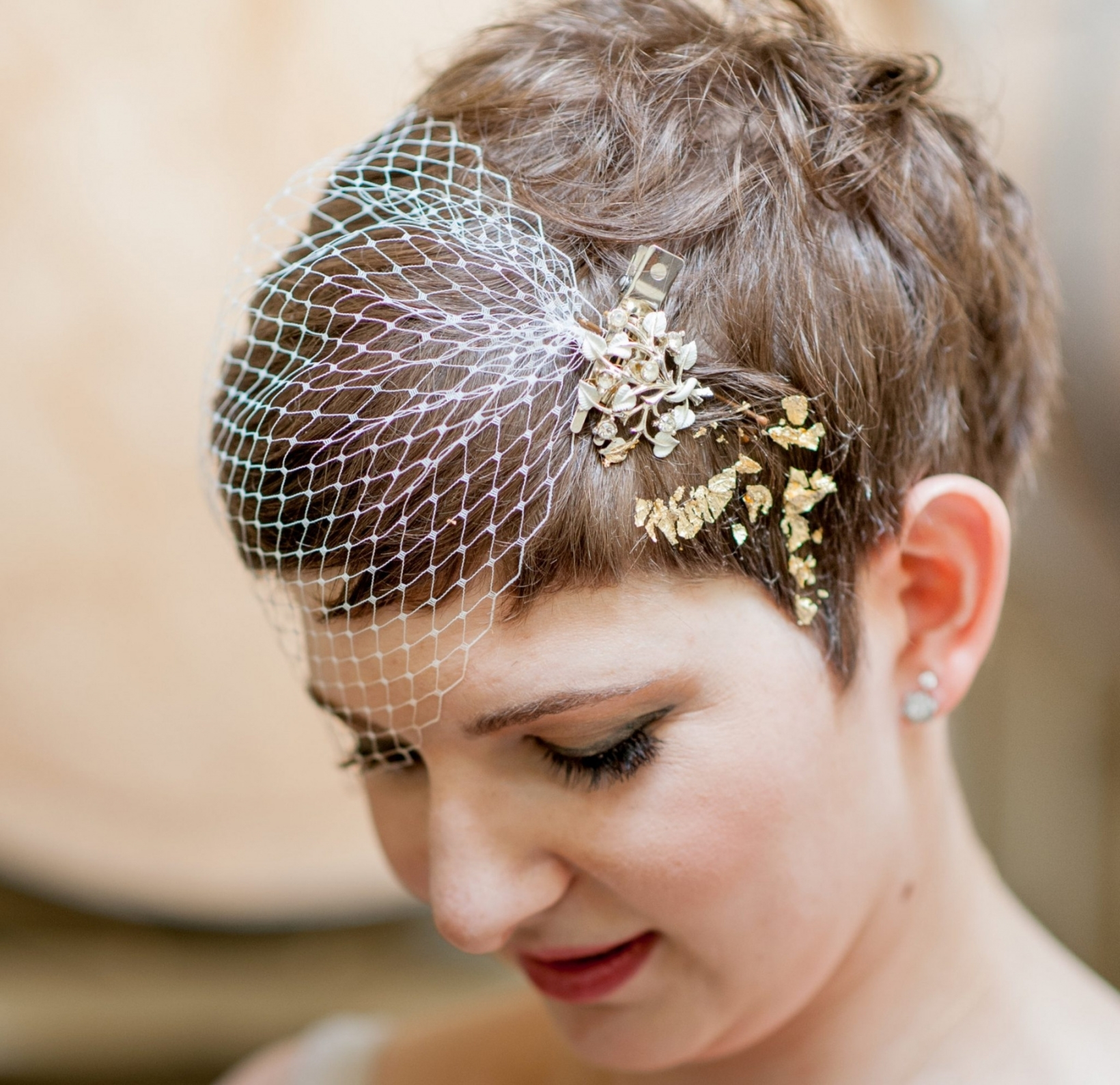 Vils For Short Hair Fresh Wedding Hairstyle Brides Pixie Haircut With Widely Used Wedding Hairstyles For Very Short Hair (View 14 of 15)