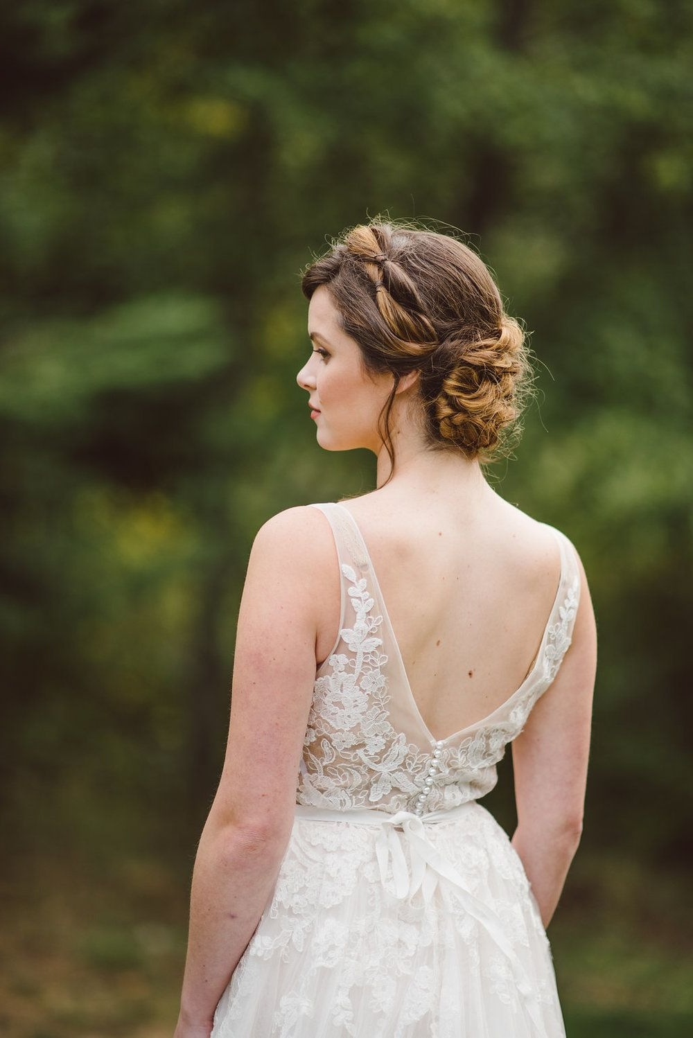 Vintage Fall, Vintage Bridal Hairstyles And Intended For Trendy Romantic Vintage Wedding Hairstyles (Gallery 7 of 15)