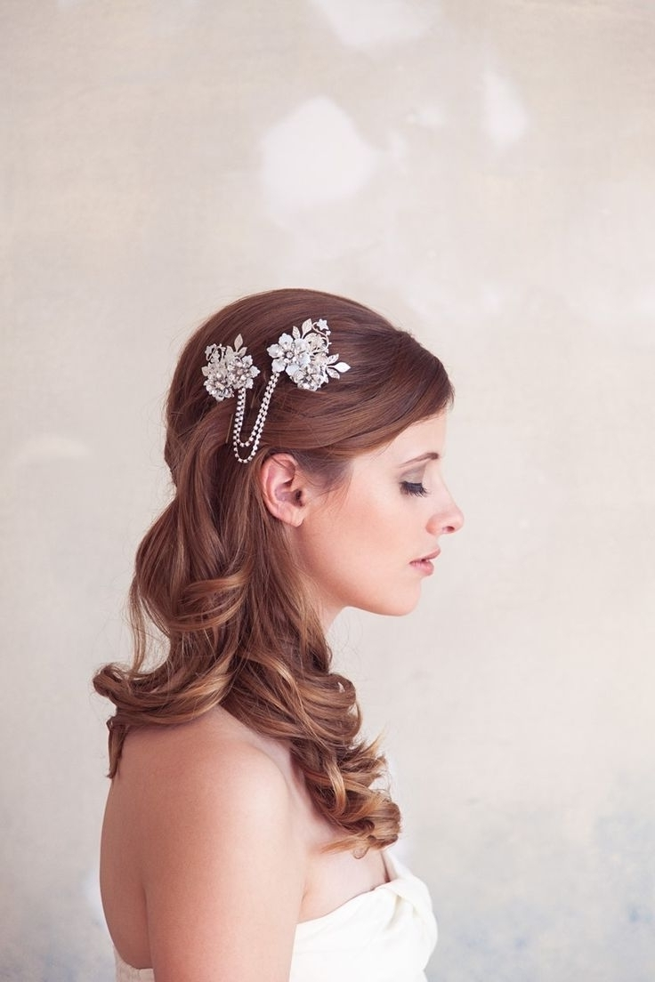 Vintage Inside Widely Used Romantic Vintage Wedding Hairstyles (Gallery 6 of 15)