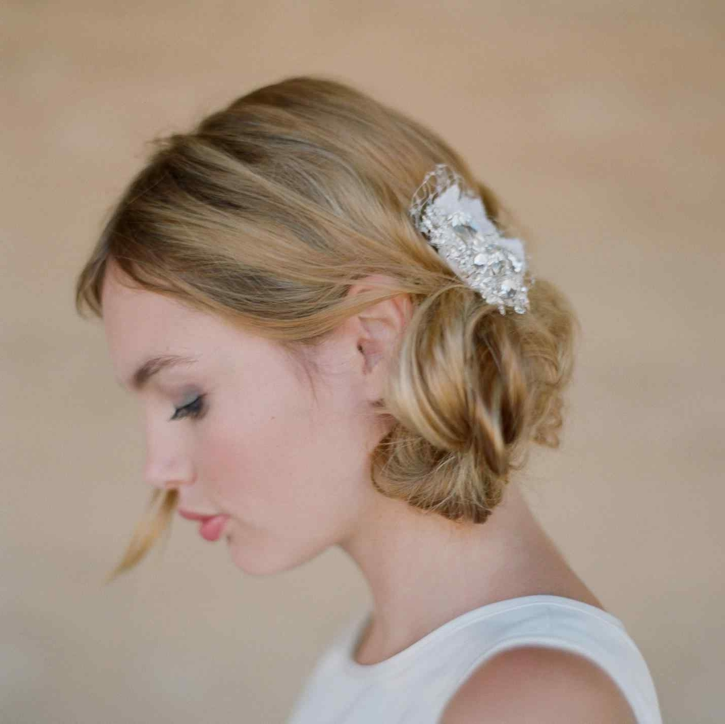 Vintage Wedding Hairstyles For Medium Length Hair For Medium Length In Most Current Vintage Wedding Hairstyles For Medium Length Hair (View 14 of 15)