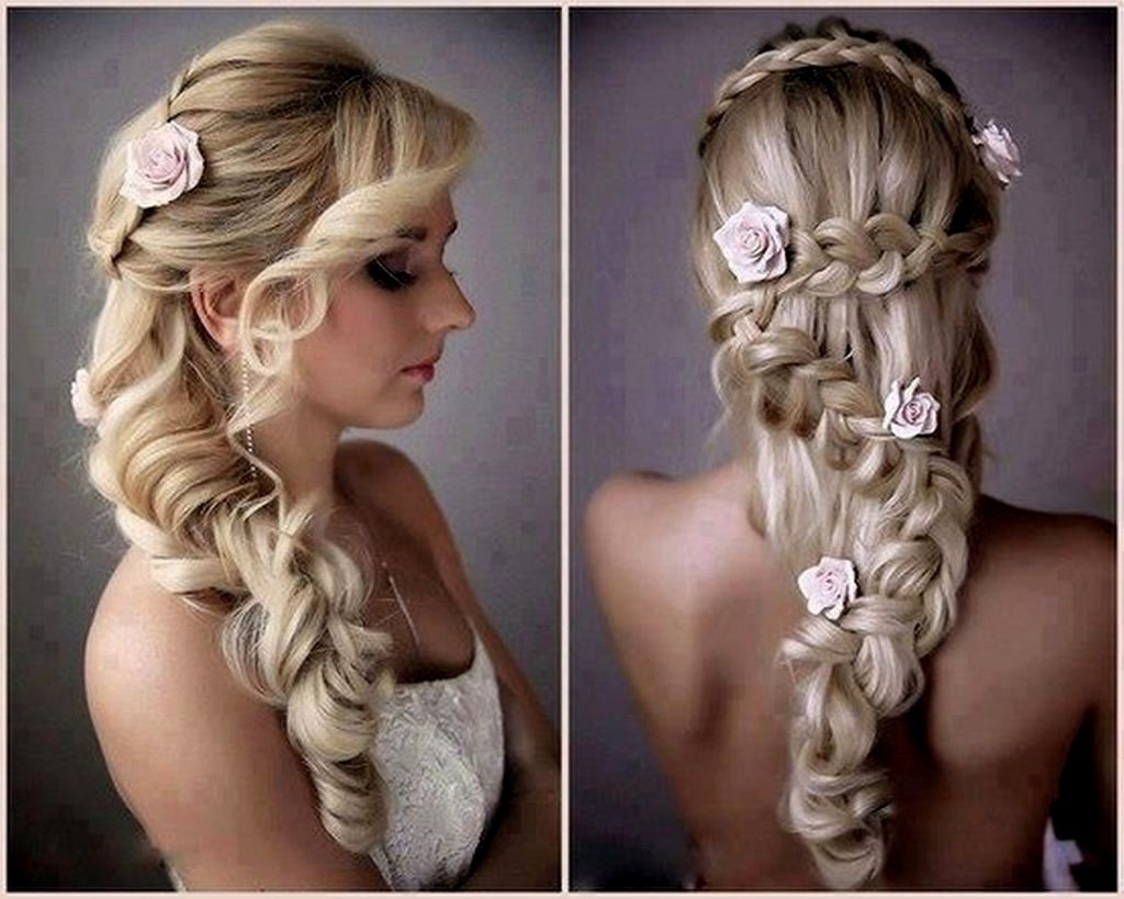 Photo Gallery Of Retro Wedding Hairstyles For Long Hair