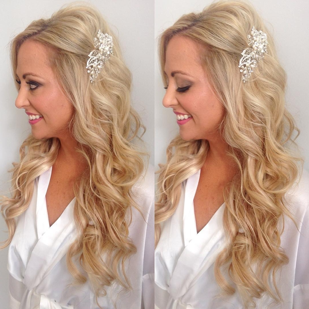 Wedding : Beach Wedding Hairstyles For Bridesmaids Curly Hair Brides Regarding Most Popular Beach Wedding Hair For Bridesmaids (View 7 of 15)