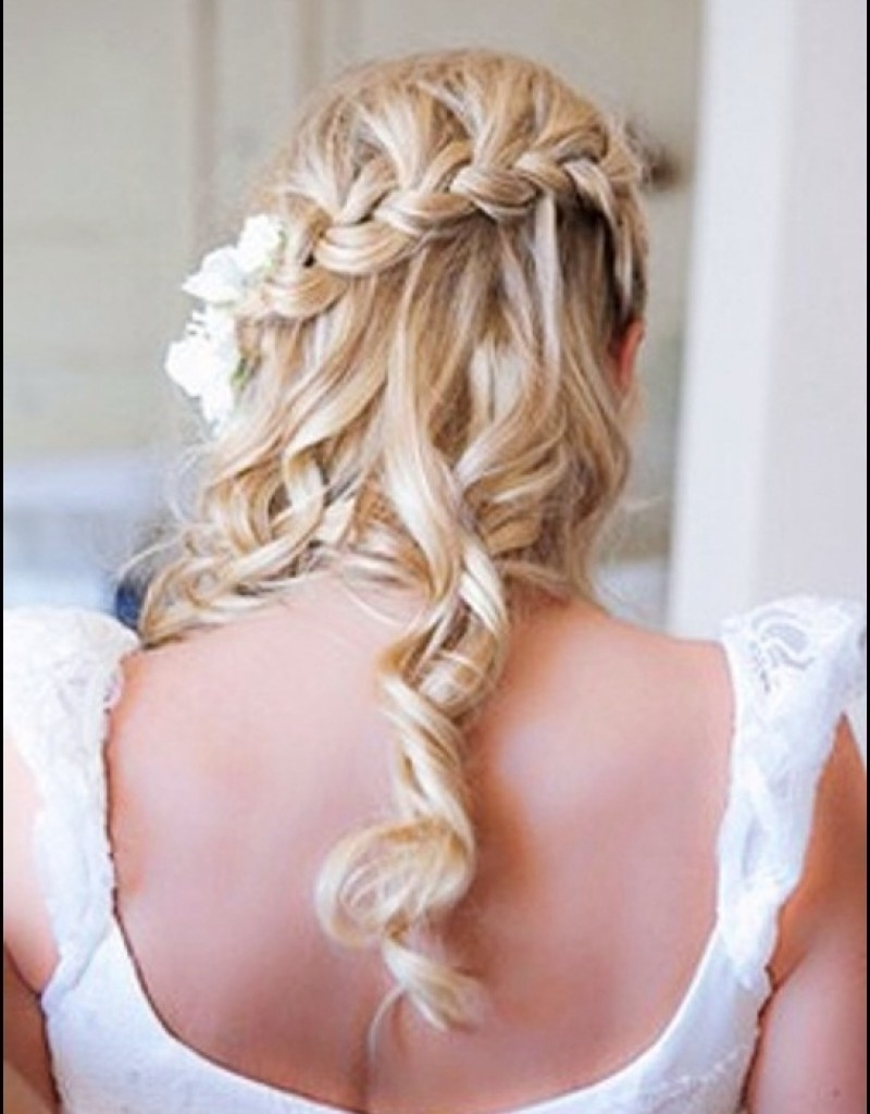Wedding : Beach Weddings Long Curly Hair Hollywood Official For 2018 Beach Wedding Hair For Bridesmaids (View 12 of 15)
