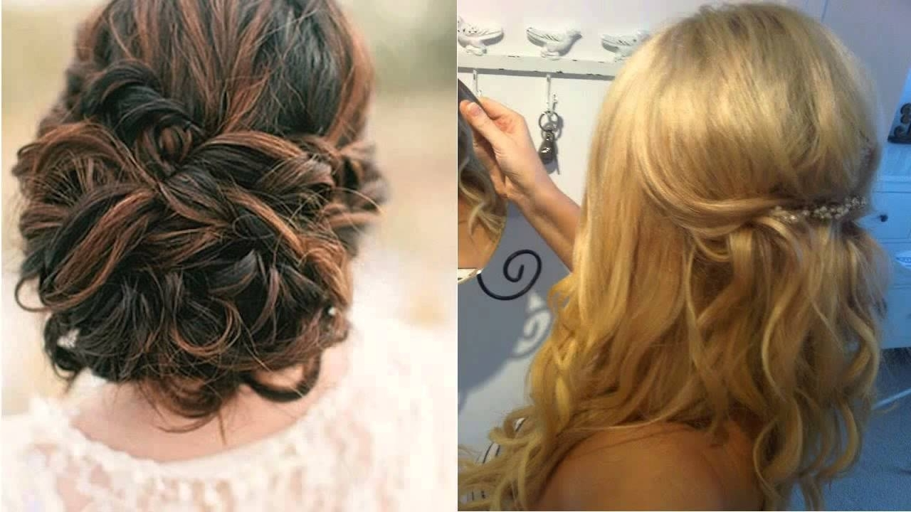 Wedding Guest Hair Half Up Half Down For Long Hair Hairdresser Within 2018 Wedding Guest Hairstyles For Long Hair Down (View 6 of 15)