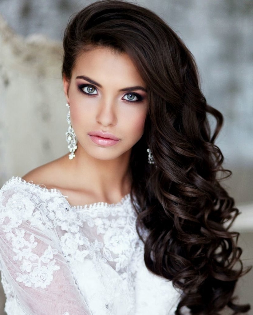 Wedding Guest Hairstyles New Ideas Marvelous Hair Styles Indianr Throughout Fashionable Wedding Guest Hairstyles For Long Hair Down (View 2 of 15)