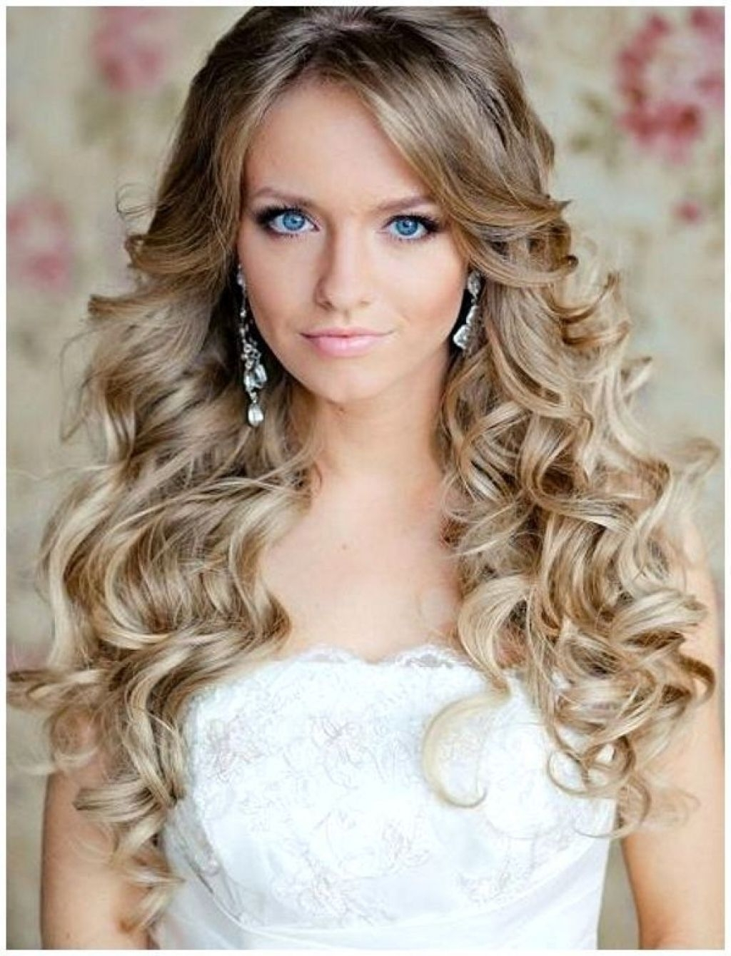 Wedding Guest Hairstyles With Bangs Simple Wedding Hairstyles Simple Regarding Famous Wedding Guest Hairstyles For Long Curly Hair (View 3 of 15)