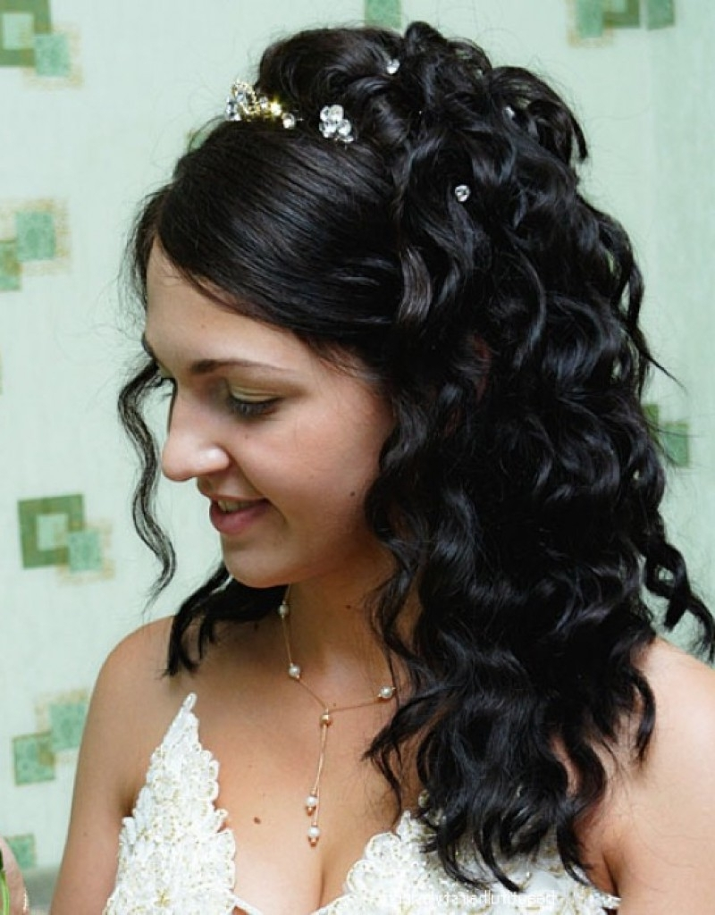 Wedding Hair : Fresh Indian Wedding Hairstyle For Short Hair With Regard To Most Up To Date Indian Wedding Hairstyles For Short Curly Hair (View 14 of 15)