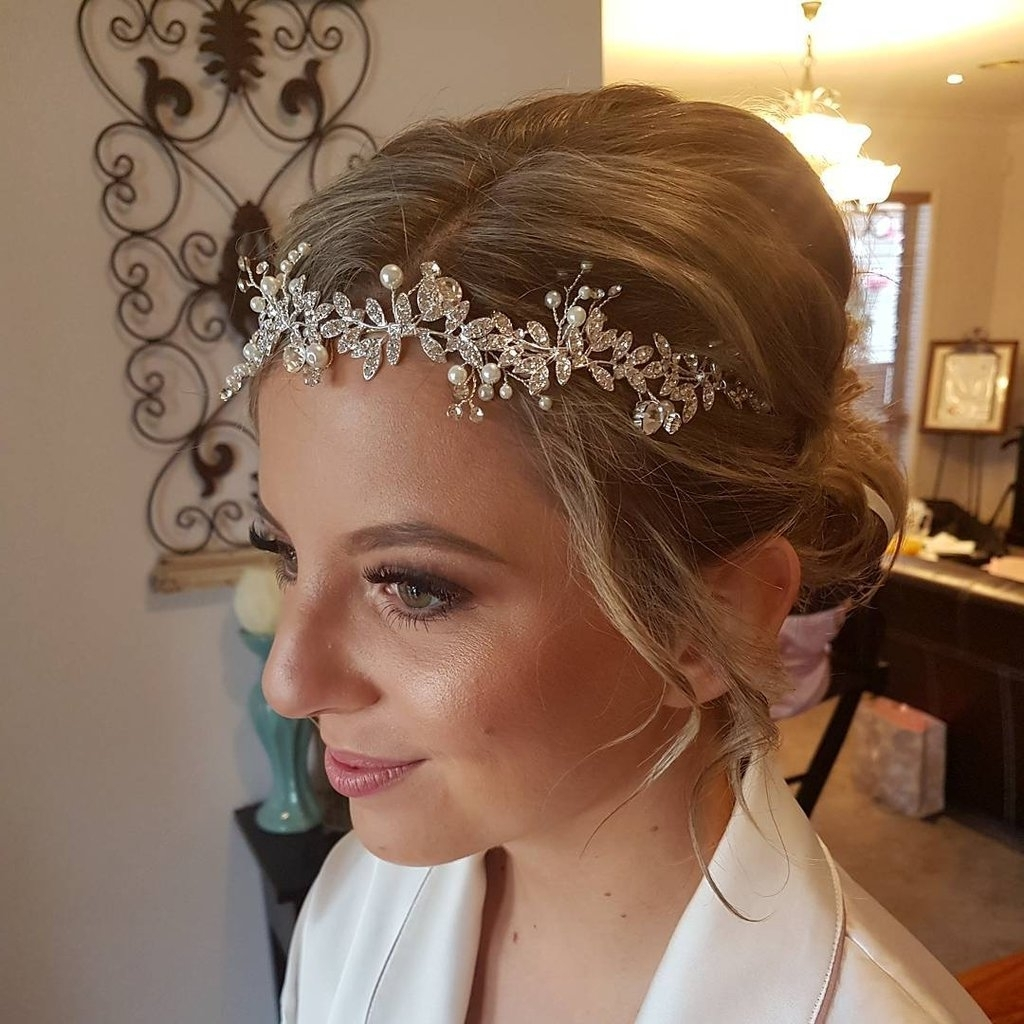 Wedding Hair Ideas For Brides Without Veils (View 12 of 15)
