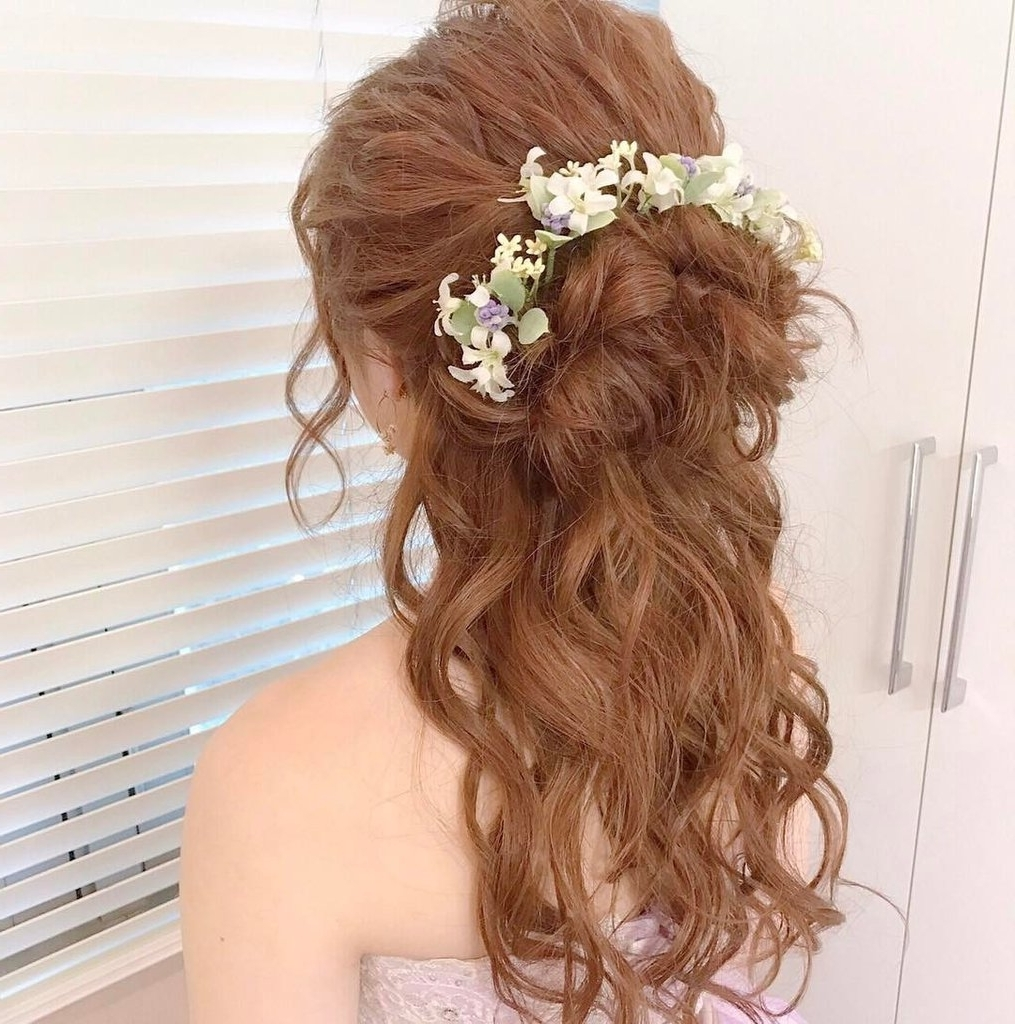 Wedding Hair Ideas For Brides Without Veils (View 11 of 15)