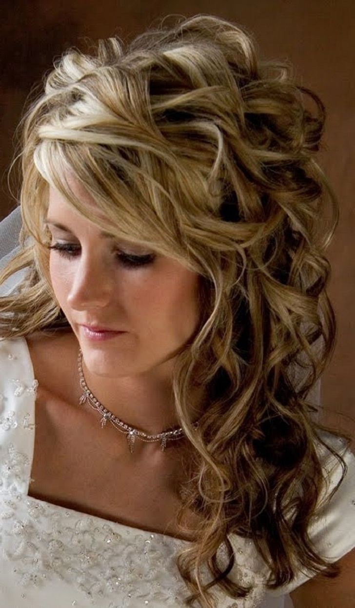 Wedding Hair Regarding Best And Newest Wedding Hairstyles To Make Face Thinner (View 11 of 15)