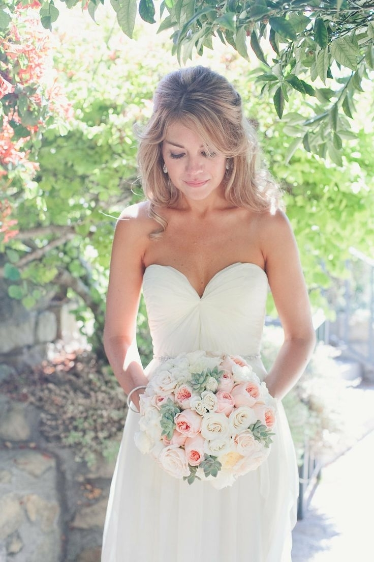 Wedding Hair Strapless Dress – Biwmagazine With Most Recent Wedding Hairstyles For A Strapless Dress (View 11 of 15)