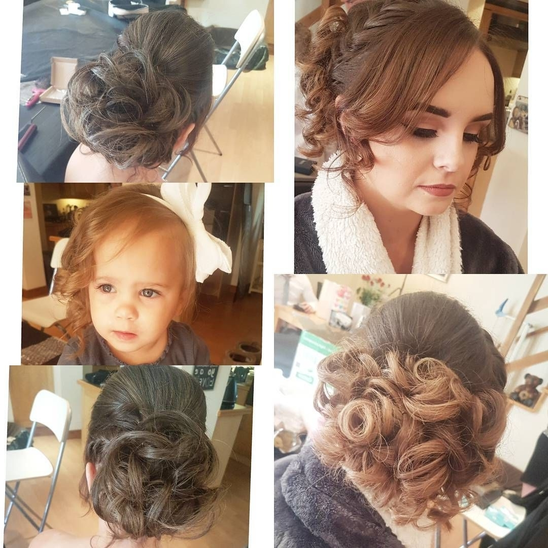 Wedding Hair This Morning (View 13 of 15)