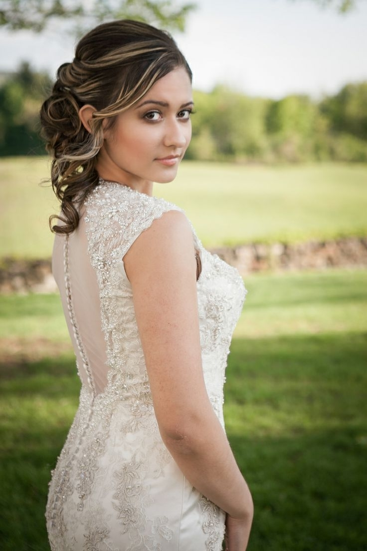Wedding Hairdos (View 12 of 15)