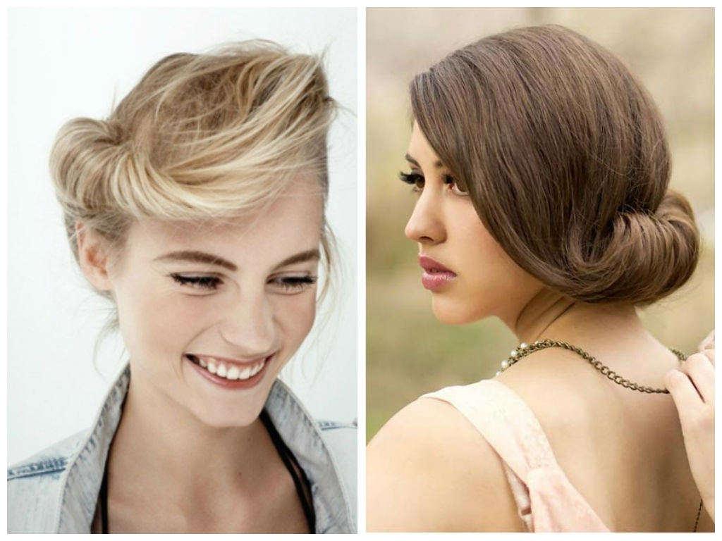 Wedding Hairstyle For Shoulder Length Hair – Hairstyle For Women & Man Inside Newest Indian Bridal Hairstyles For Medium Length Hair (View 6 of 15)