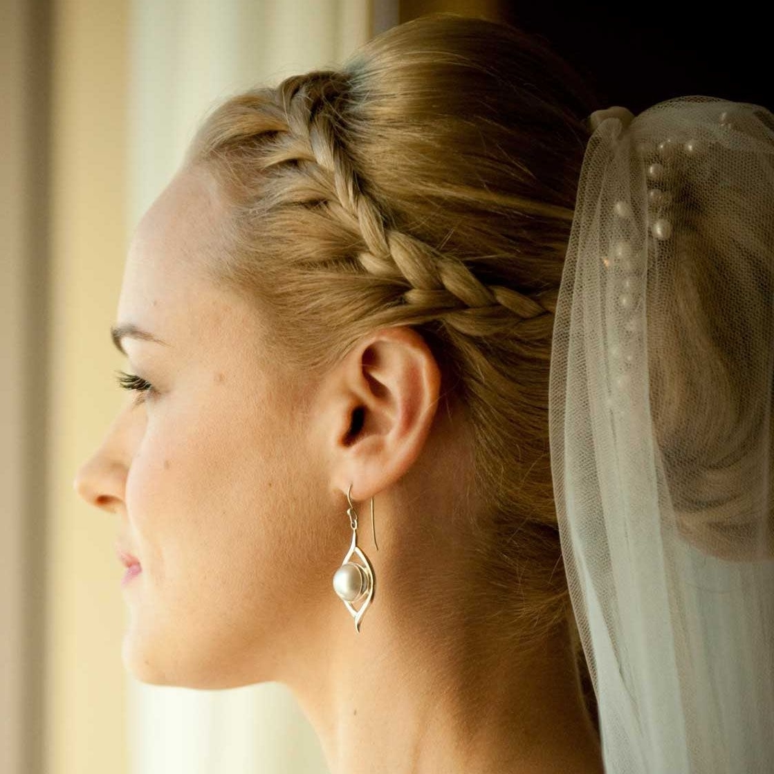 Wedding Hairstyle For Wedding Dress Inside 2017 Wedding Hairstyles That Cover Ears (View 13 of 15)