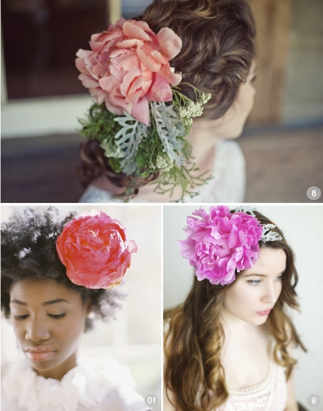 Wedding Hairstyle Single Statement Flower In Hair (View 15 of 15)